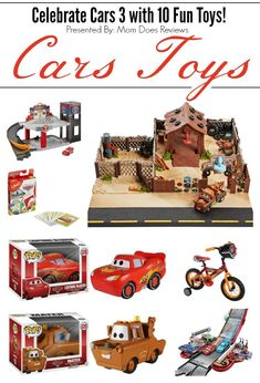 10 Disney Pixar Cars Toys to Celebrate Cars 3