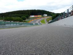 The finest sporting arena I have ever been too... Spa-Francorchamps