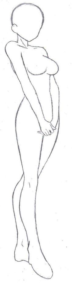 Cuerpo base para una mujercita