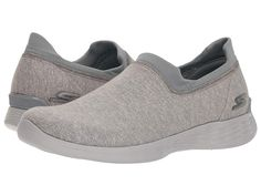 8a357ddb0f1 SKECHERS Performance You Define (Grey) Women s Shoes. Walk the city streets  with ease