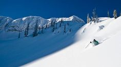 We've put together a guide with an overview of the best ski resorts in Canada. Check out our big list of where to go skiing in Canada. Ski Canada, Go Skiing, Alpine Skiing, Discover Canada, Vancouver City, Canada Holiday, Best Ski Resorts, Best Skis, Ski Holidays