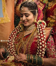 A beautiful moment to cherish in life , did a great job with the flawless makeup 😍 Indian Wedding Pictures, Indian Wedding Outfits, Bridal Outfits, Wedding Images, Telugu Wedding, Saree Wedding, Bridal Sarees, Bridal Jewellery Inspiration, Bridal Lehenga Collection