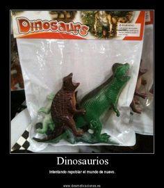 Dinosaurios (FOTO Desmotivaciones)