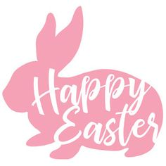 Jillibean Soup - Silhouette Cut Files / Happy Easter Bunny