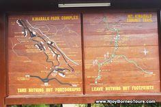 Mount Kinabalu Trail Map