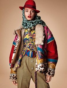 """leah-cultice: """"Giulia Maenza by Giampaolo Sgura for Vogue Germany August 2017 """" Modest Fashion, Hijab Fashion, Fashion Art, Editorial Fashion, Fashion Models, Boho Fashion, Fashion Design, Fashion Trends, High Fashion Photography"""