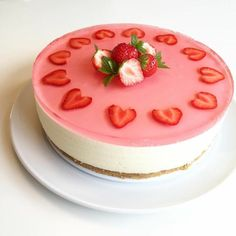 Cute Birthday Cakes, Birthday Wishes, Pastry Cake, Cravings, Panna Cotta, Cake Decorating, Cheesecake, Food And Drink, Pudding