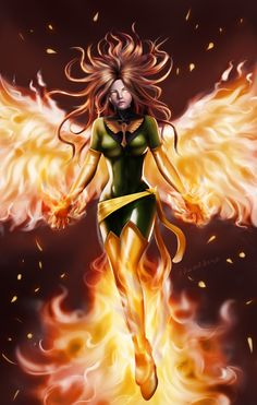 Jean Grey by edwarddesu.deviantart.com on @DeviantArt