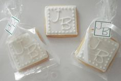 Bake at 350: Elegant white on white wedding cookies: Cookie Exchange! Made by Cancun Cookies - love both of these decorators!!!