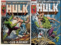 Hulk #118 - Jose Luis Garcia Lopez One Minute Later with Color Comic Art