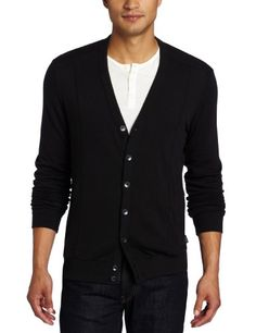 Knit  Cardigan... i like this look on men. I dont know any that will wear it!