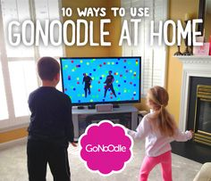 Finally! A reward I can use with my kids that's not food or toys!  10 Ways to Use GoNoodle at Home
