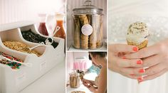 Sundae, Fun Day: Treat Your Wedding Guests to an Ice Cream Bar | Bridal and Wedding Planning Resource for Wisconsin Weddings | Wisconsin Bride Magazine