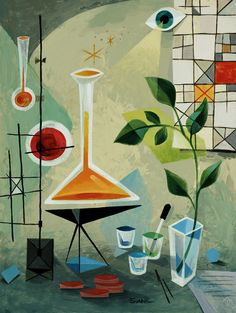 I love this Laboratory Still Life by the amazing Don Shank!