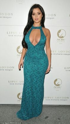 A vision: Demi, pictured in September is known for her ample assets and  stunning cur. Tyga's rumoured ex Demi Rose ...