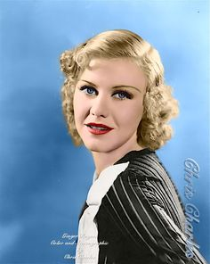 Hollywood Or Bust, Old Hollywood, Vintage Movie Stars, Vintage Movies, Ginger Rogers, Vintage Beauty, Front Row, Good Times, Actors