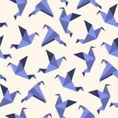 imprimé origami