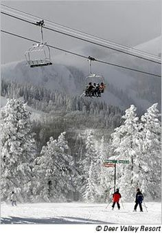 Deer Valley, Park City, Utah - rated one of top three ski resorts in North America by Ski Magazine