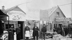 Dawson City, Yukon ~ heart of the Klondike Gold Rush.love the Yukon, such beautiful scenery. Canadian History, American History, Yukon Territory, City Museum, Canada, Vintage Photographs, Vintage Photos, Thats The Way, Gold Rush
