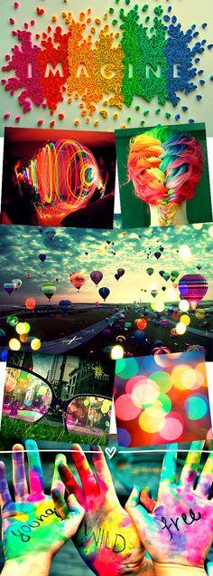Inspiração da semana: luzes e cores