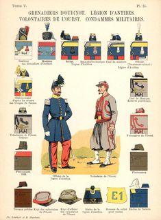 La guerre franco-prussienne de 1870-71 » Uniformes