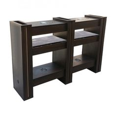 Alego Nail Drying Station 4 Chocolate - $579 ,  https://www.ebuynails.com/shop/alego-nail-drying-station-4-chocolate/ #furniture #spasalon #spafurniture #nailtable #salonfurniture #nailsalon