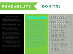 Fast-track your ability to create amazing designs by avoiding these simple typography skills. Visual Learning, Presentation Design, Design Process, School Design, Lorem Ipsum, Content Marketing, Typography Design, Mistakes, Colorful Backgrounds