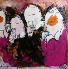 Gerdine Duijsens painting   affordable Los Angeles art gallery   Artspace Warehouse