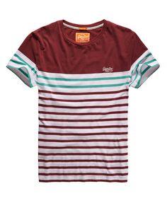 Superdry Breton Stripe T-shirt - Men's T Shirts