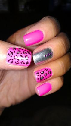 Hot Pink Cheetah
