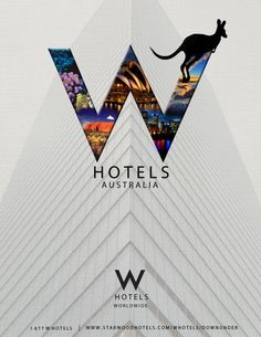 W Hotels Australia by Jaclyn Hosking (hotel ad)