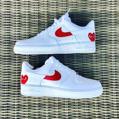costumized shoes nike Nike Air Force 1 X Comme Des Garons Nike Air Force 1 Outfit, Nike Air Force Ones, Nike Shoes Air Force, Nike Air Max, Custom Vans Shoes, Custom Sneakers, Nike Outfits, Fashion Outfits, Fashion Fashion