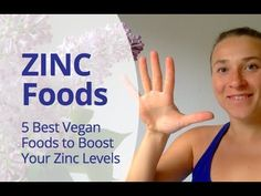 What foods have the most zinc? I share with you my Top 5 zinc-rich foods that are natural sources of zinc. Natural Sources Of Zinc, Good Sources Of Zinc, Best Zinc Supplement, Zinc Rich Foods, Zinc Supplements, Parasite Cleanse, Zinc Deficiency, Inspirational Videos, Holistic Healing