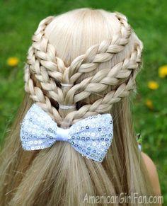 20+ Fancy Little Girl Braids Hairstyle - Cool Creativities