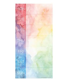 Look at this Tie-Dye Magnetic Notepad on #zulily today!