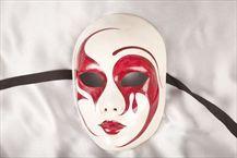 Full Faced Venetian Masquerade Masks - VOLTO EMMA FANTASY