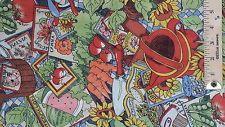 Susan Winget Garden Print Fabric - 1 yard