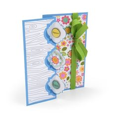 Happiness, Flowers & Love Flip-its Card
