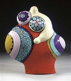 Artwork by Niki de Saint Phalle, Nana Pregnant (Last Night I had a Dream)