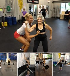 74-year-old Annemarie McKay inspiration. good for her!