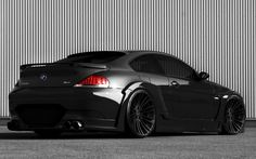 BMW M6 Dark Night Edition. Defines me 100%. Black on Black on Black.