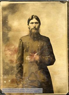 Grigory Rasputin ~ Siberian peasant and Russian mystic Grigory Rasputin was assassinated on December 17, 1916 in the private room of Prince Felix Yusupov. Rasputin was known throughout Russia as a mystic healer, prophet, and visionary. However, many believed him to be a religious charlatan who possessed powers  over Emperor Nicholas II, his wife Alexandra, and their only son Alexei. He has been credited with the eventual fall of the Romanov dynasty in Russia. #StPetersburg #Grigory_Rasputin