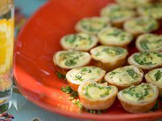 Mini Quiche recipe from Patricia Heaton via Food Network