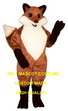 >> Click to Buy << red Fox Mascot Costume wholesale adult cartoon wild English fox theme new anime cosplay costumes fursuit carnival fancy 2690 #Affiliate