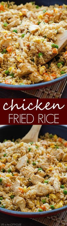 This rice is better than takeout any day! My family requests it all the time