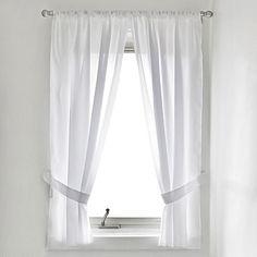 Fabric Window Curtain Panel Pair