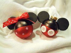 Mickey & Minnie ornaments ♥