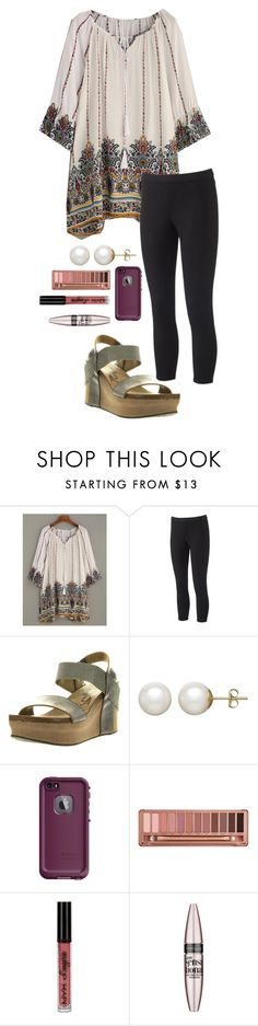 """""""Untitled #687"""" by shelbycooper ❤ liked on Polyvore featuring WithChic, Jennifer Lopez, OTBT, Honora, LifeProof, Urban Decay, NYX and Maybelline"""