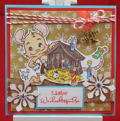 Tinas kreative Seite - #24 von 24 Squares for Christmas