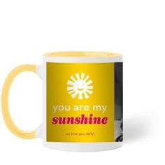 My Sunshine Mug, Yellow, 11 oz, Yellow